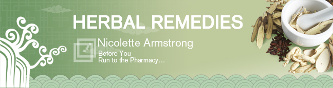 Herbal RemediesBefore You Run to the Pharmacy