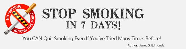 Stop Smoking In 7 Days!