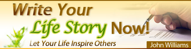 Write Your Life Story Now In 2021